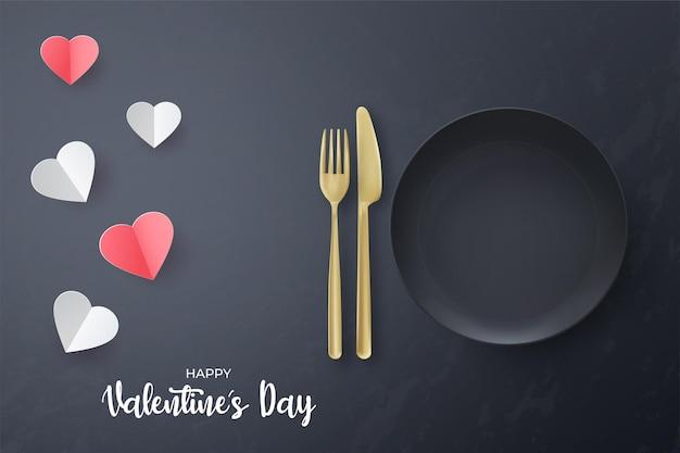 Happy valentines day banner vorlage.