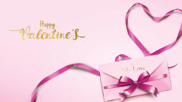 Happy valentines day-grußkarte