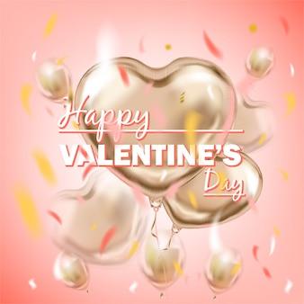 Happy valentines day-schriftzug