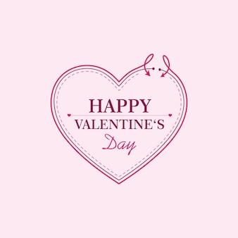 Happy valentines day vorlage