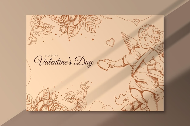 Happy valentinstag banner