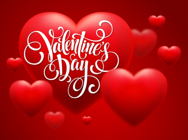 Happy valentinstag grußkarte
