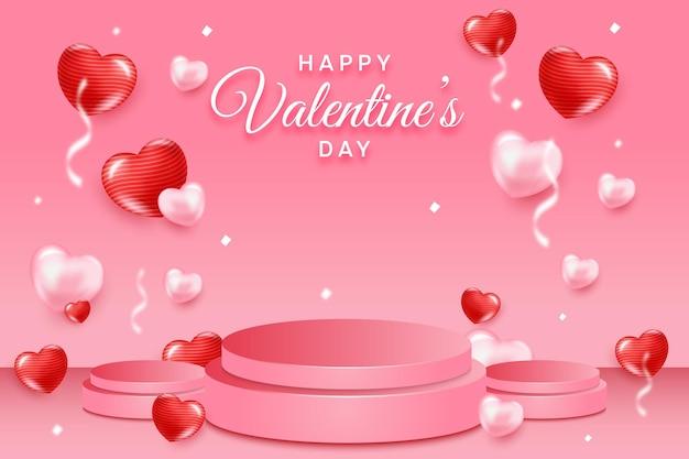Happy valentinstag konzept