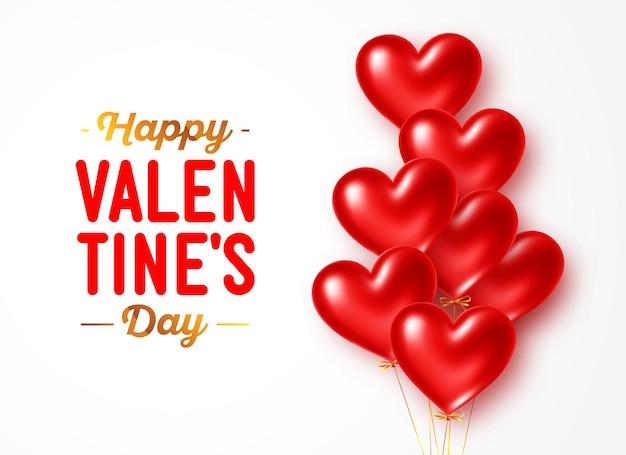 Happy valentinstag urlaub gruß banner