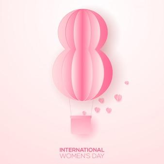 Happy womens day grußkarte