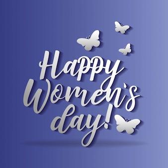 Happy womens day-karte