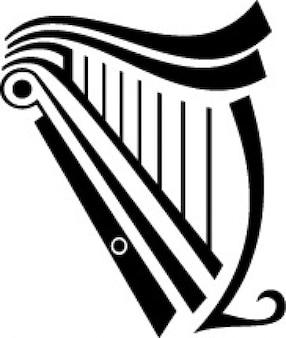 Harfe instrument