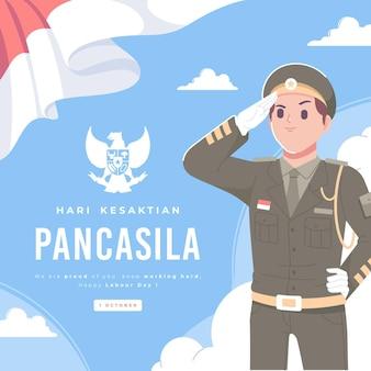 Hari kesaktian pancasila tag der heiligkeit von pancasila