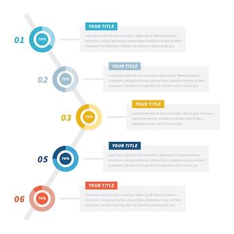 Harvey ball diagramme - infografik