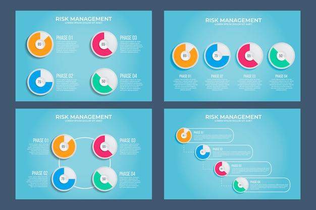 Harvey ball diagramme infografik