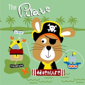 Hase der pirat