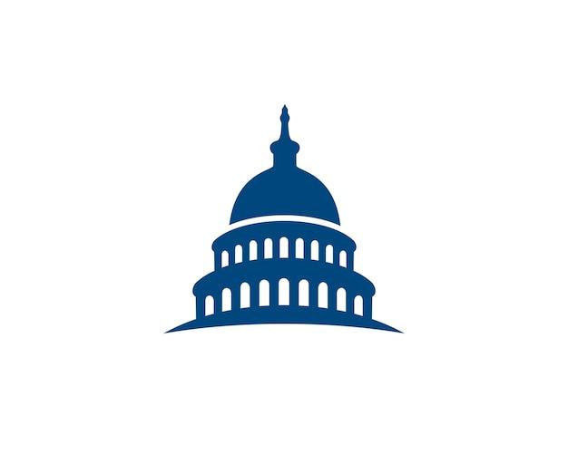Hauptstadtgebäude logo