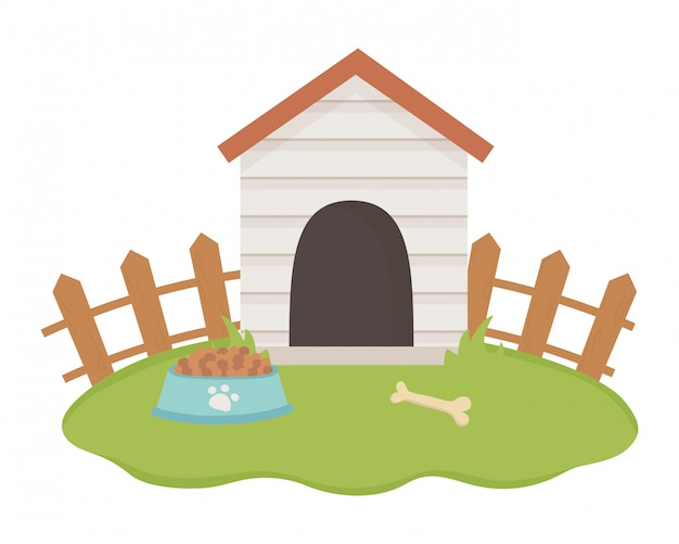 Haus für maskottchen