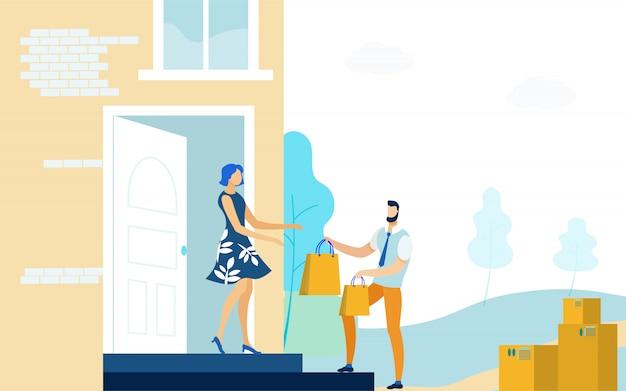 Haus-haus-lieferservice