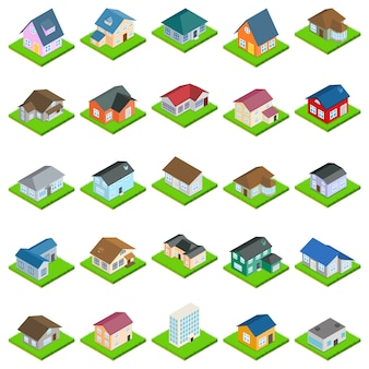 Haus-icon-set