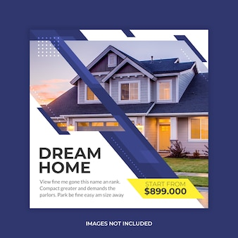 Haus immobilienverkauf banner