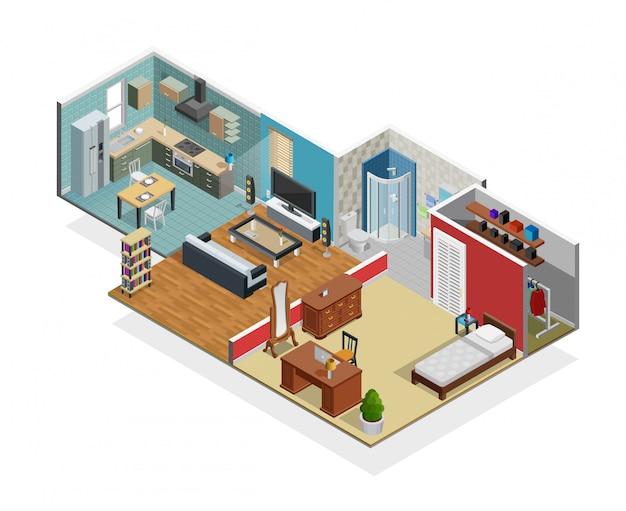 Haus-innenraumkonzept