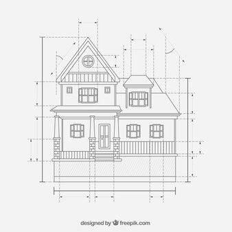 Haus Konstruktionspläne