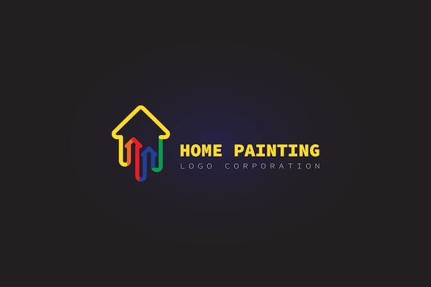 Haus logo malerei