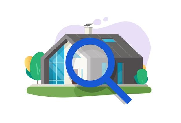 Haus- oder hausinspektionsprüfungsservice