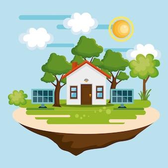 Haus retten die weltikone