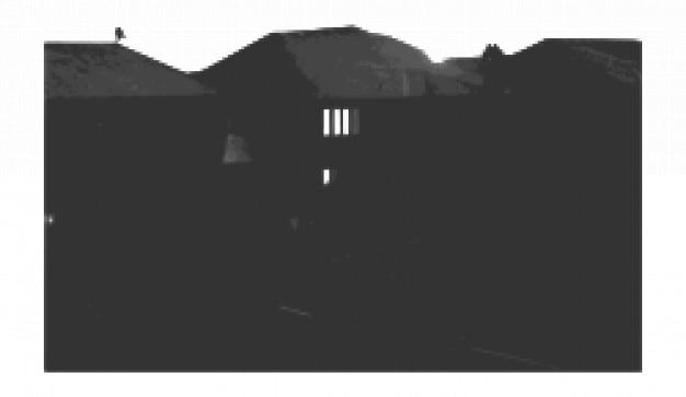 Haus skizziert