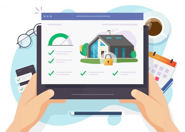 Haus- und smart-home-sicherheit