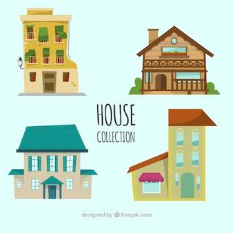 Haus von vier personen