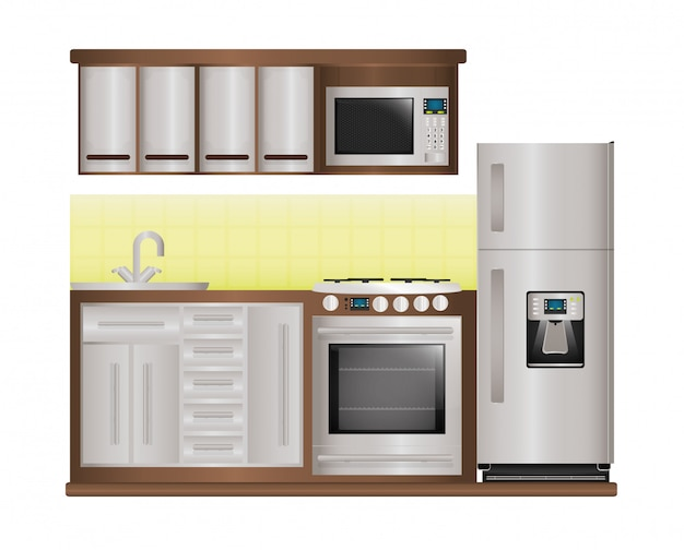 Haushaltsgeräte design.