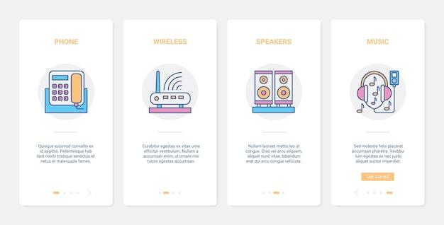 Haushaltsgeräte für die kommunikation