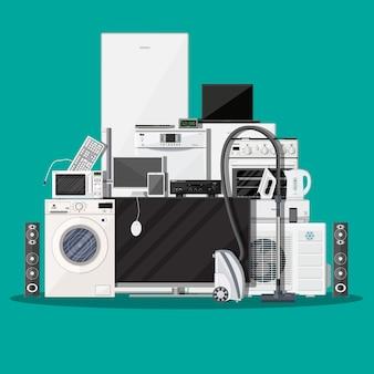 Haushaltsgeräte und elektronische geräte