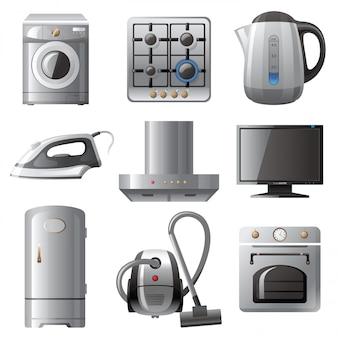 Haushaltsgeräte Premium Vektoren