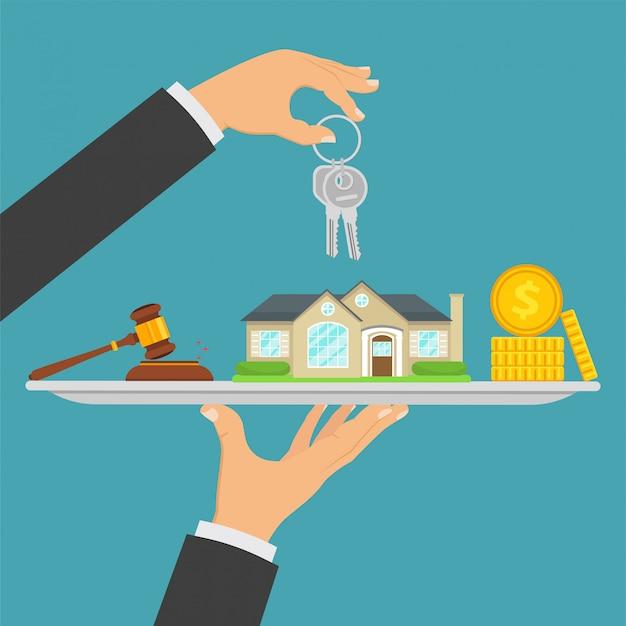 Hauskauf, immobilienverkauf, immobilientransaktion