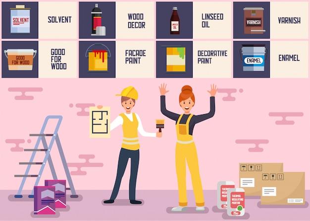 Hausmaler und gipser team service
