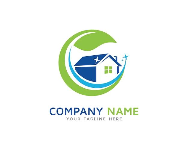 Hausreinigung logo design