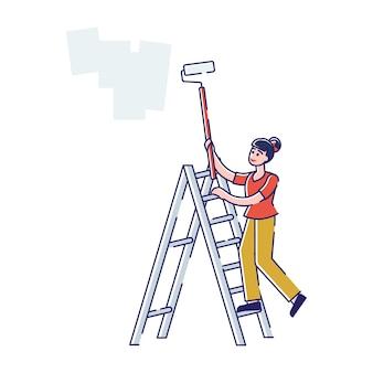 Hausrenovierungs- und umbaukonzept