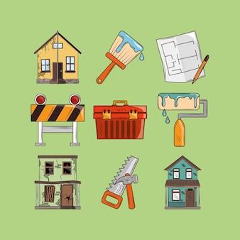 Hausrenovierungsbau