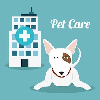 Haustier-care-center-service-symbole
