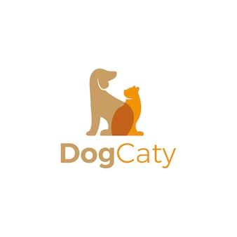 Haustier-logo-vektor