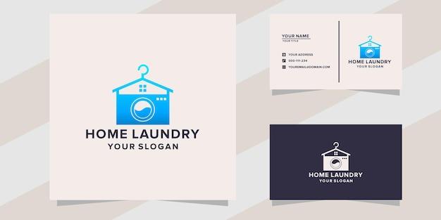 Hauswäsche-logo-vorlage