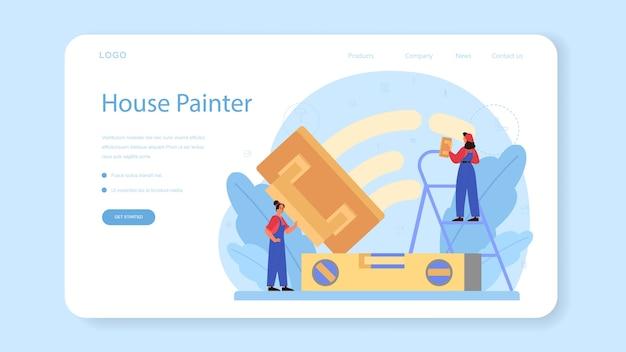 Hauswandputz-web-banner oder landingpage