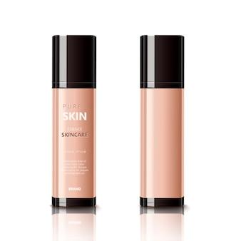 Hautpflege- oder make-up-illustration