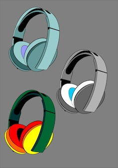 Headset farbenfroh