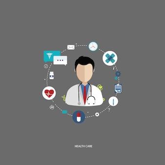 Health-care-konzept