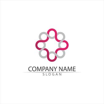 Health medical logo vorlage