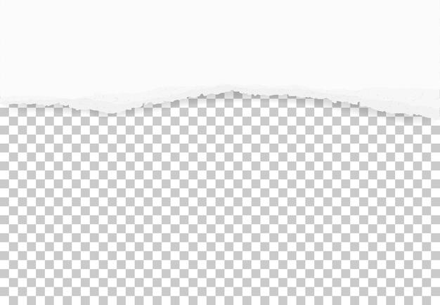 Heftige papierkanten für hintergrund.
