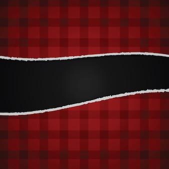 Heftiger roter papierhintergrund, vektor