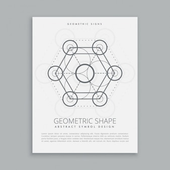 Heilige geometrie zeichen und symbol