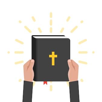 Heilige schrift schrift illustration
