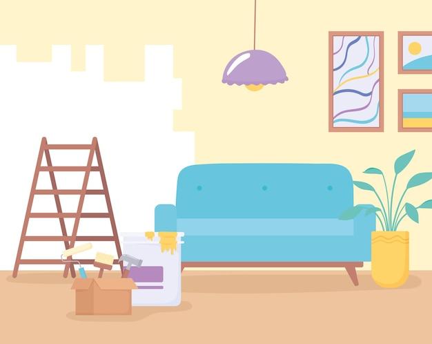 Heimwerken malerei